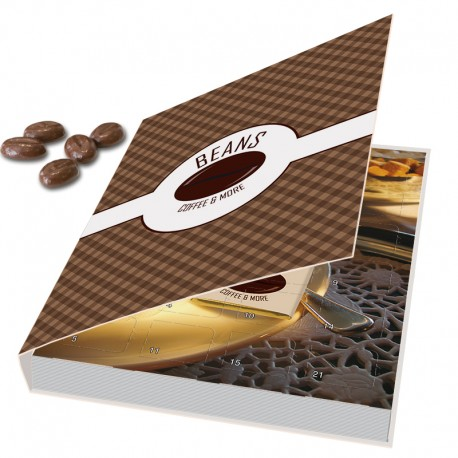 Christmas calendar Günstig Libro chocolate beans
