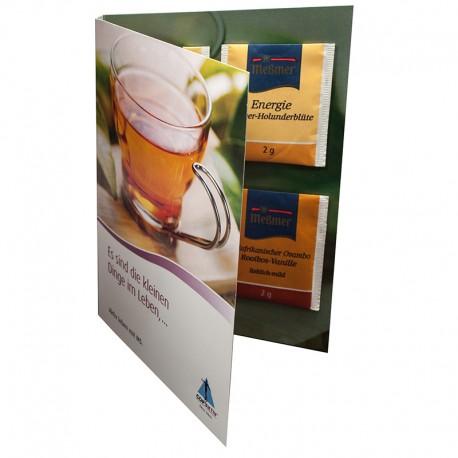 Tea promo-folder A5