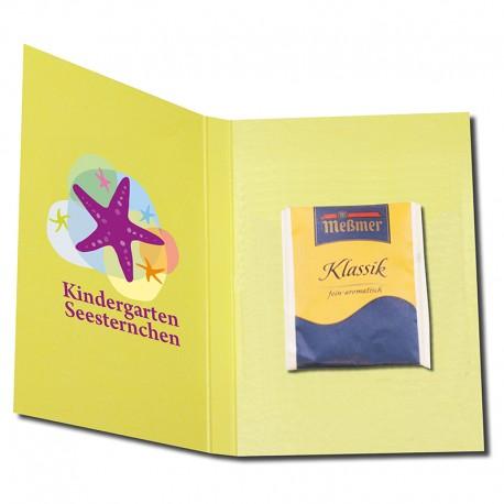 Tea promo-folder A6