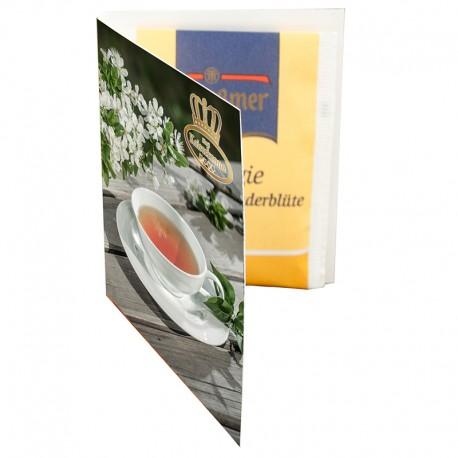 Tea promo-folder A7