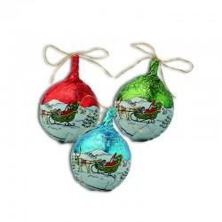 Chocolate Christmas ball hollow