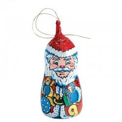 Chocolate Santa with cord