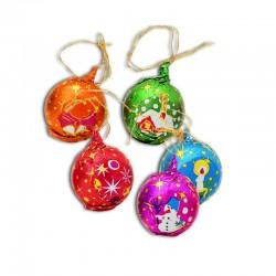 Chocolate Christmas ball with cord