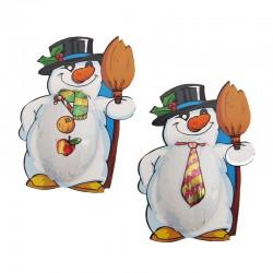 Chocolate Snowman Mr. Freeze