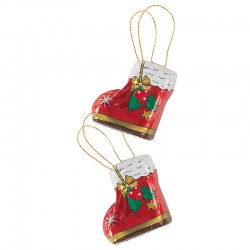Chocolate Santa's boot