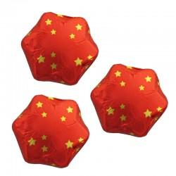 Chocolate Red mini stars