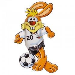Chocolate Soccer Bunny