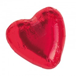Chocolate Heart Red