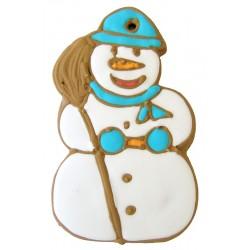 Gingergread Snowman 22 cm
