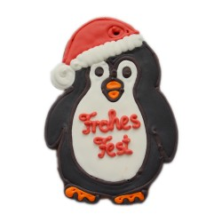 Pinguin mit Mütze 14 cm