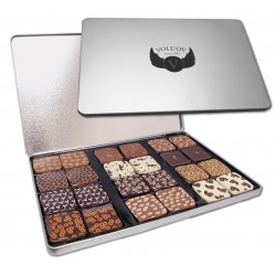 Logo-Chocolate printed tin 24