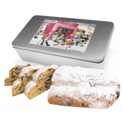 Christmas fruit cake 750g, Tin