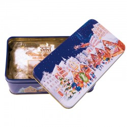 Christmas fruit cake 200g, Xmas tin