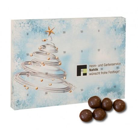 Christmas calendar Günstig crispy chocolate balls