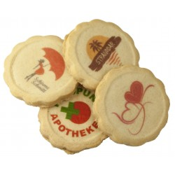 Printed biscuits